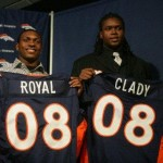 Eddie Royal and Ryan Clady