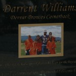 Darrent Williams Statue Enscription