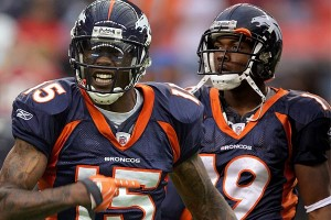 Brandon Marshall & Eddie Royal