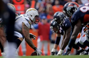 The Chargers and Broncos re-ignite one of the NFL's freshest rivalries on Sunday night. (Getty Images)