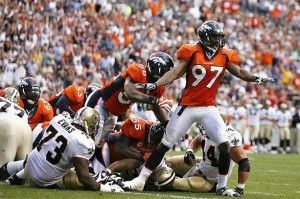 Broncos Defense Halts Saints March