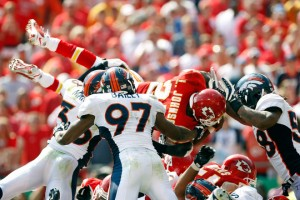 Larry Johnson vs. Broncos