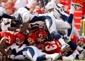 Larry Johnson Pileup