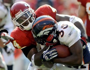 Selvin Young vs. Chiefs (Reuters Photo)