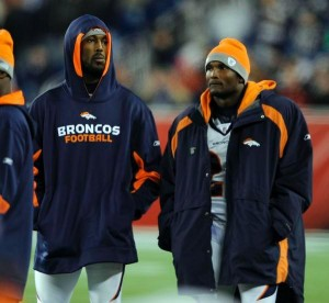 Boss and Champ Bailey (Denver Post)