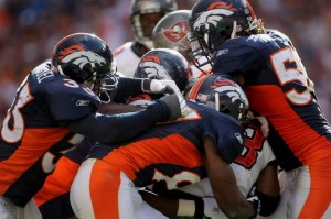 Denver Broncos defense (Getty Images)