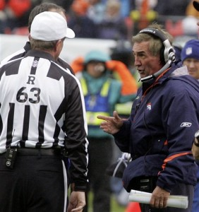 Shanahan and Referee (AP Photo)