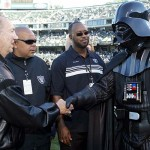 Al Davis and Darth Vader