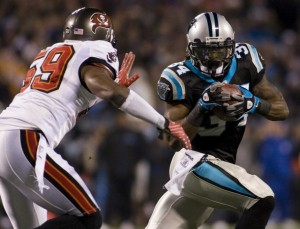 Panthers RB DeAngelo Williams is having a career season.  (Reuters Photo)