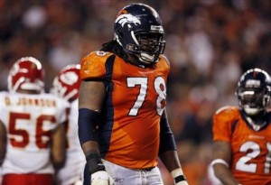 Ryan Clady (AP Photo/David Zalubowski)