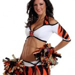 Cincinnati Bengals cheerleader Lauren B