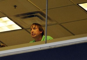 Denver Broncos quarter back  Kyle Orton watches the Denver Broncos pre season game against the Arizona Cardinals at Invesco Field at Mile High from the press box Thursday Sept 3, 2009  JOHN LEYBA/THE DENVER POST