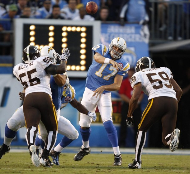 San Diego Chargers Game Score: Chargers 23: Final Game Notes