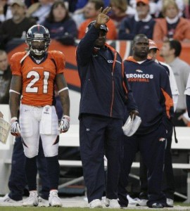 Denver Broncos running backs coach Bobby Turner (Joe Mahoney/Rocky Mountain News)