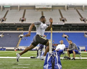 NFL Combine begins today in Indianapolis, IN.