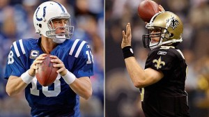 Manning and Brees