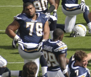 San Diego Chargers defensive lineman Jamal Williams is visiting the Denver Broncos Monday