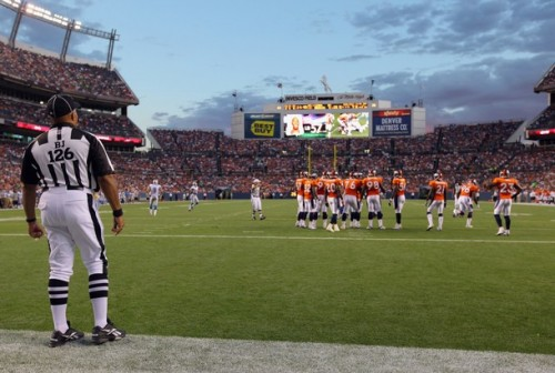 A look at who's where on the Broncos depth chart. (Photo by Doug Pensinger/Getty Images)