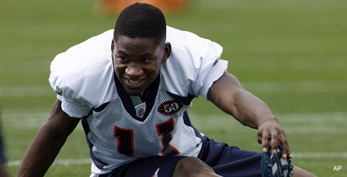 Denver Broncos wide receiver Kenny McKinley (AP Photo)