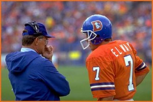 Dan Reeves and John Elway led the Broncos to three Super Bowls before things fell apart in the early 1990's.