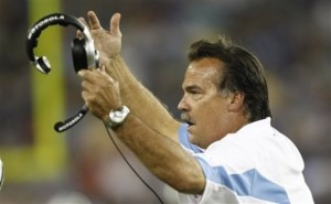 Tennessee Titans coach Jeff Fisher