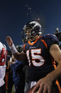 Denver Broncos quarterback Tim Tebow (Doug Pensinger/Getty Images)
