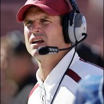 Stanford coach Jim Harbaugh