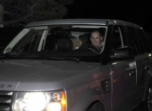 Josh McDaniels leaves Dove Valley with a car full of boxes after he was fired in December 2010. (John Leyba, The Denver Post)