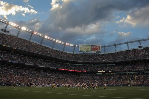 Invesco Field at Mile High. (Photo by Doug Pensinger/Getty Images)