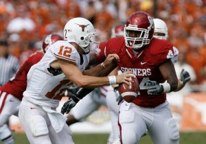 Oklahoma defensive end Jeremy Beals