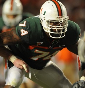 Miami OT Orlando Franklin