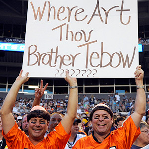 Tebow fans