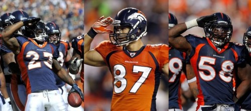 Mile High Salutes by McGahee, Decker, Miller