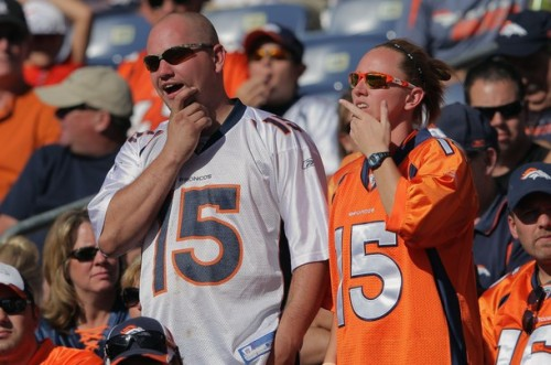 Tim Tebow Broncos fans