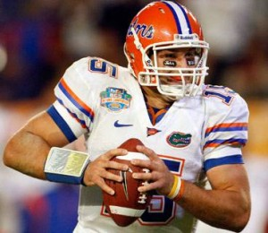 Broncos quarterback Tim Tebow has had a lot of success in the state of Florida.  (Jerry Lai/US PRESSWIRE)