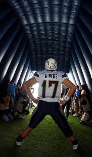 Philip Rivers entrance