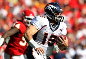 Tim Tebow  v Kansas City Chiefs