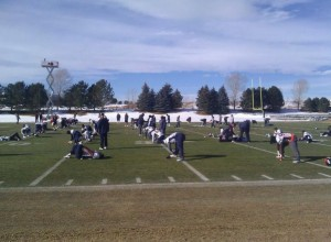 There have been clear skies in Denver for most of the season.  (Image courtesy of @Denver_Broncos)