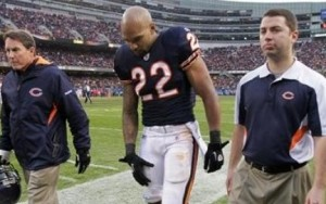 Bears running back Matt Forte will not play this week.  (AP File Photo)
