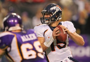 Jared Allen and Tim Tebow