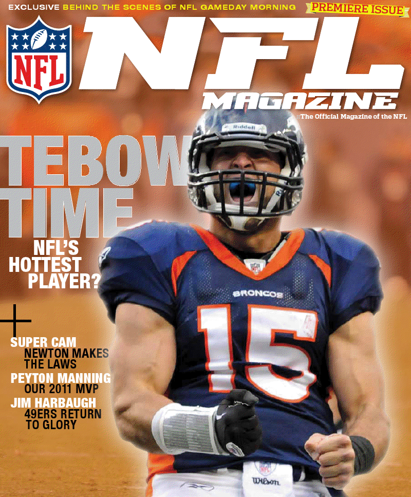 NFL News: Tim Tebow Covers NFL Magazine