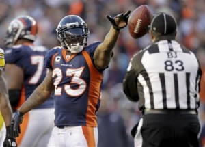 Willis McGahee (AP Photo/Joe Mahoney)