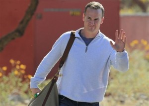 Manning's decision may come tonight.  (AP Photo/Ross D. Franklin)