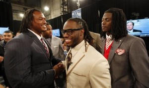 Trent Richardson, Dont'a Hightower, Dre Kirkpatrick