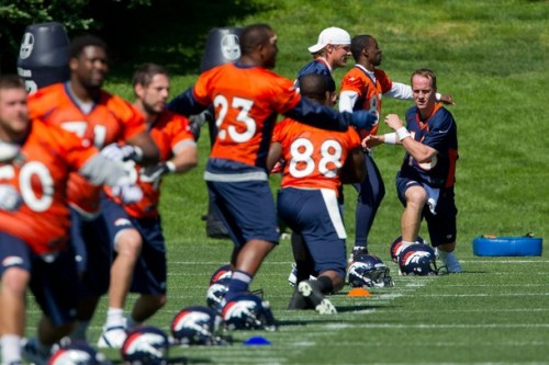 Denver Broncos Hold Organized Team Activities