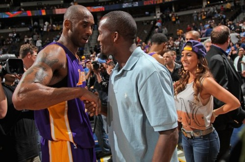 Kobe Bryant and Champ Bailey