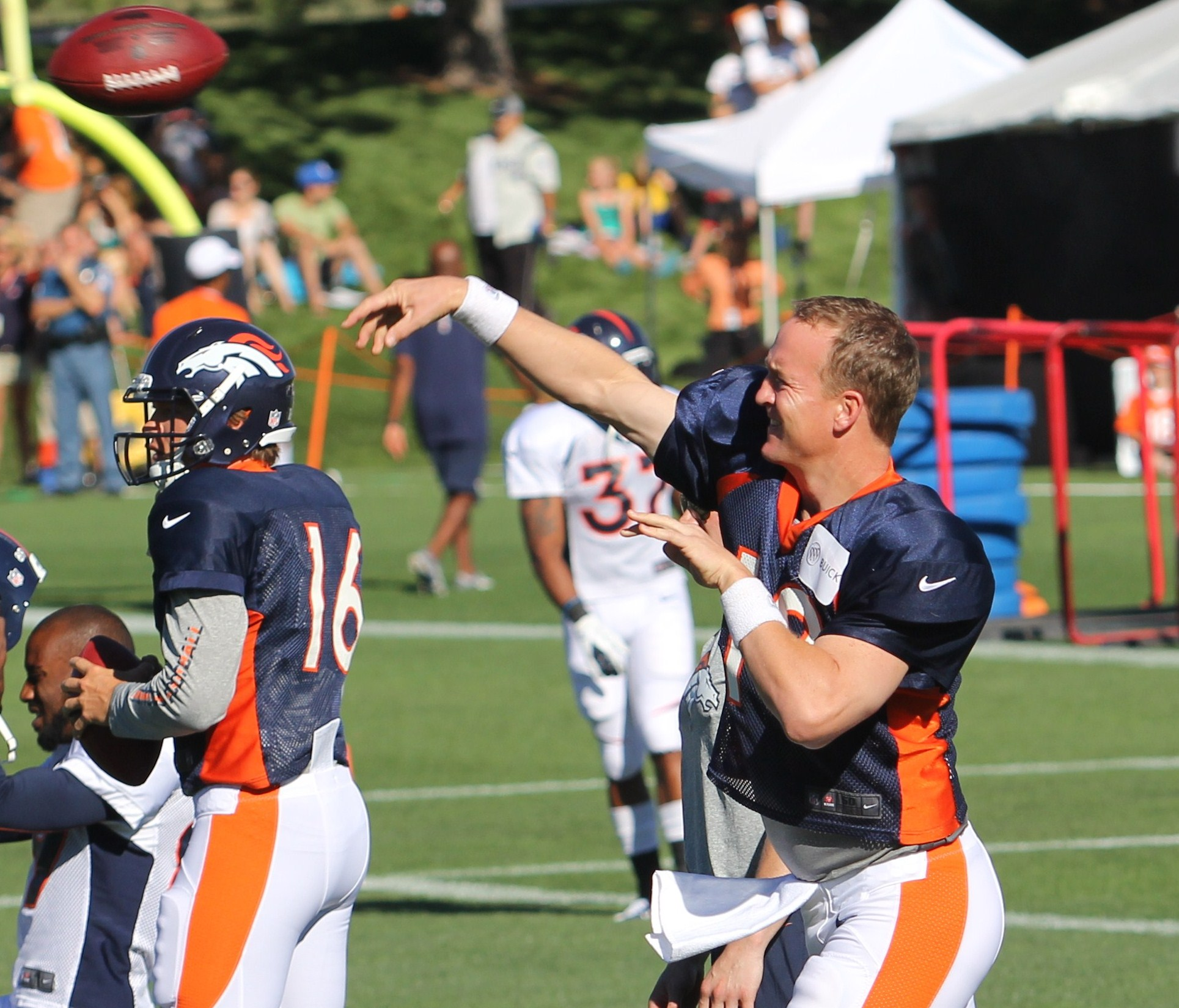 Denver Broncos 2012 Training Camp: Day 3