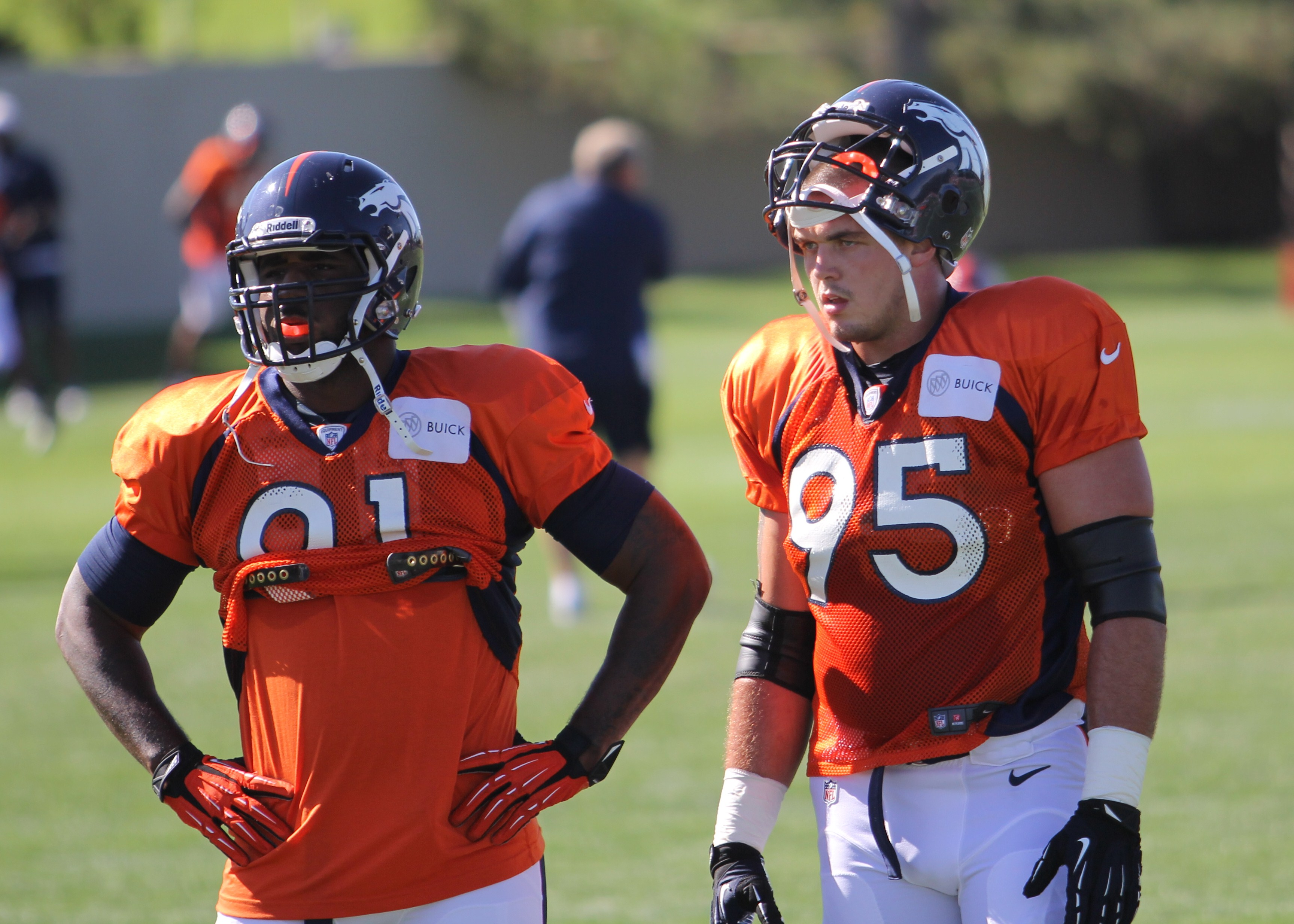 Derek Wolfe making his mark wherever he can BroncoTalk