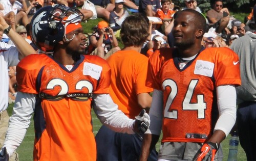 Tracy Porter and Champ Bailey