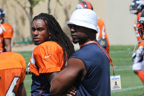 Brian Dawkins at 2012 camp
